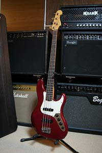 Fender American Deluxe Active Jazz Bass