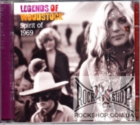 Various - Legends Of Woodstock: Spirit Of 1969 (Sealed) (2CD)