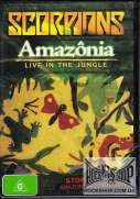 Scorpions - Amazonia - Live In The Jungle (Sealed) (DVD)