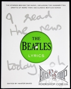 Beatles, The - Lyrics: The Stories Behind The Music, Including The Handwritten Drafts Of More Than 100 Classic Beatles Songs (by Hunter Davies (Editor)) (Sealed) (Книга)
