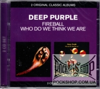 Deep Purple - Fireball / Who Do We Think We Are (Sealed) (2CD)