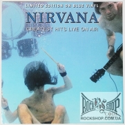 Nirvana - Greatest Hits Live On Air (Limited Edition On Blue Vinyl) (Sealed) (LP)