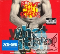 Red Hot Chilli Peppers - What Hits!? (Compilation) (Sealed) (2CD+DVD)