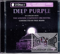 Deep Purple, The London Symphony Orchestra, Paul Mann - In Concert With The London Symphony Orchestra (Sealed) (CD+DVD)
