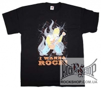 Simpsons, The - Homer - I Wanna Rock (L)