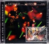 Satriani, Joe / Eric Johnson / Steve Vai - G3 - Live In Concert (Sealed) (CD)