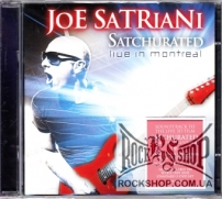 Satriani, Joe - Satchurated: Live In Montreal (Sealed) (2CD)