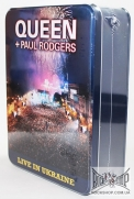 Queen + Paul Rodgers - Live In Ukraine (Deluxe Box Set Edition) (Sealed) (2CD+DVD+T-Shirt)