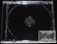 Бокс для диска на 1 CD с прозрачным треем (Standart Jewel Case With Clear Tray)