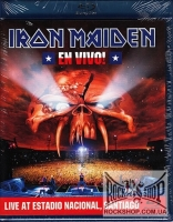 Iron Maiden - En Vivo! - Live At Estadio Nacional, Santiago (Sealed) (Blu-ray)
