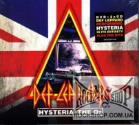 Def Leppard - Hysteria At The O2 (Sealed) (2CD+DVD)